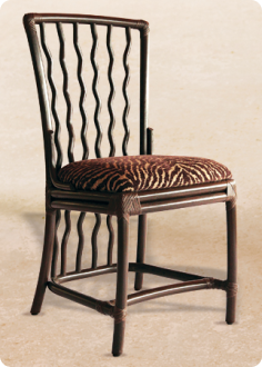 Wavy Back Chair