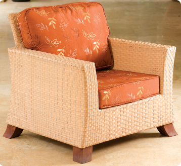 Chinese Woven Single Seater