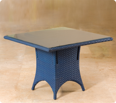 Woven Dining Table 90cm X 90cm