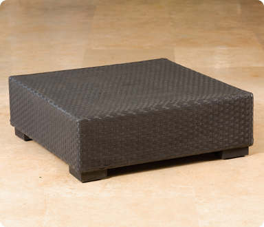 Square Woven Coffee Table